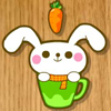 Play rabbit eats carrot On Fudge U Games