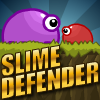 Play Slime Defender On Fudge U Games